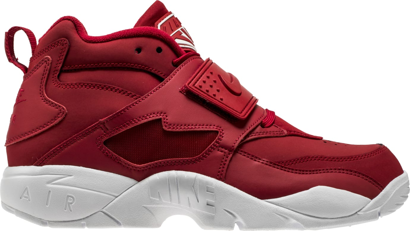 Nike Air Diamond Turf Red White 309434-600 Profile