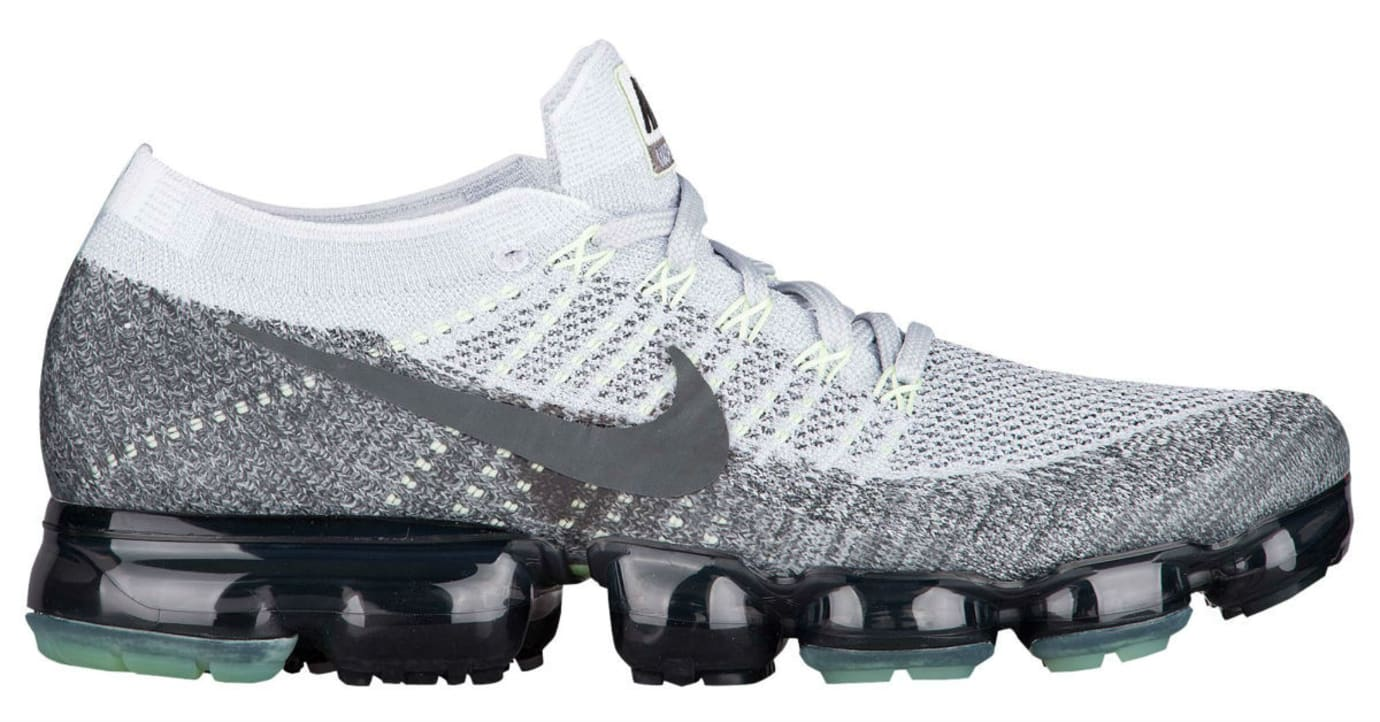 58caeeb13b8 Nike Air VaporMax Heritage Pack Pure Platinum White Dark Grey Release Date  922915-002 Profile