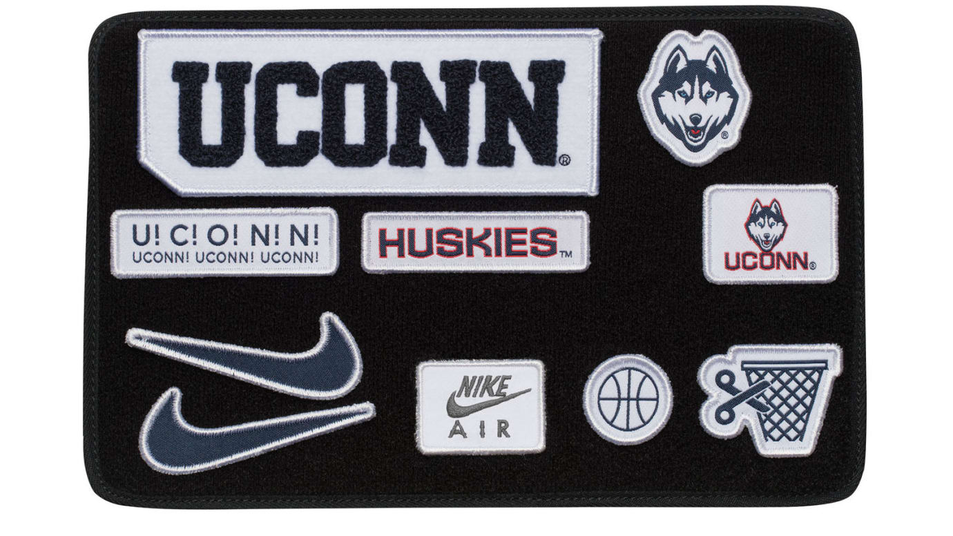 NCAA x Nike Air Force 1 By You 'Uconn'