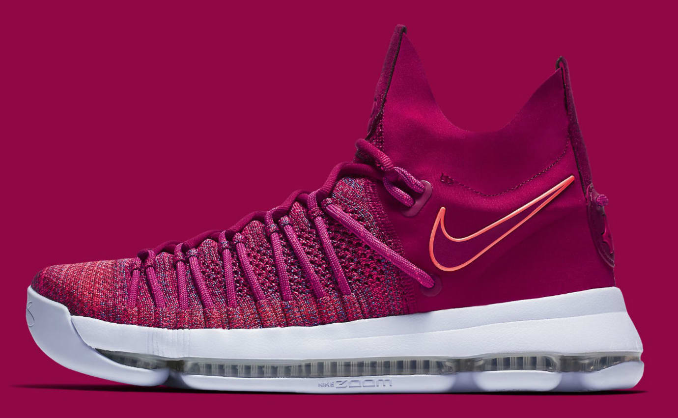 free shipping f9298 cb7ee Nike KD 9 Elite Racer Pink Release Date 878639-666 | Sole ...