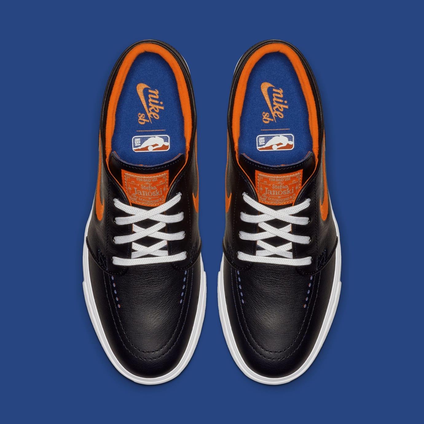 NBA x Nike SB Stefan Janoski 'Knicks' BQ6397-024 (Top)