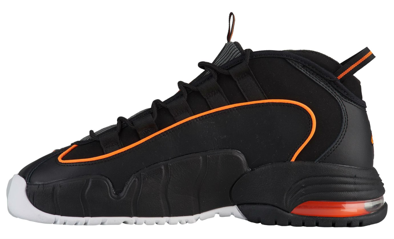 Nike Air Max Penny 1 Black Total Orange White Release Date