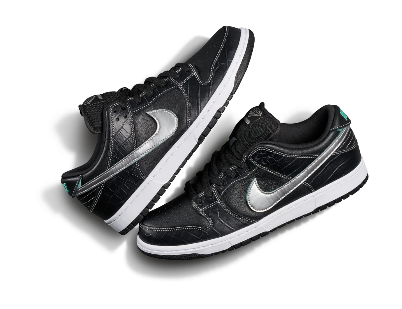 Diamond Supply Co. x Nike SB Dunk Low 'Black' (Pair)