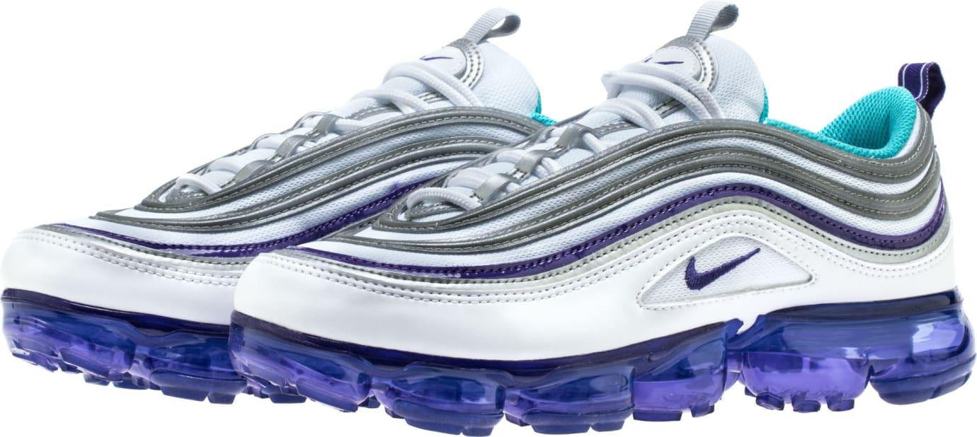 online retailer b26fe a3aea Image via Shoe Palace Nike Air VaporMax 97 Aqua Release Date AJ7291-100  Front