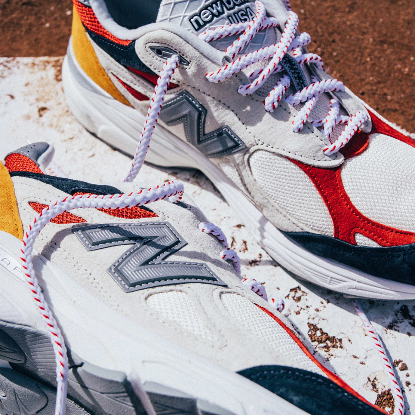 reputable site bf984 a09a8 DTLR Villa x New Balance 990v3 'Navy Yard' Release Date ...