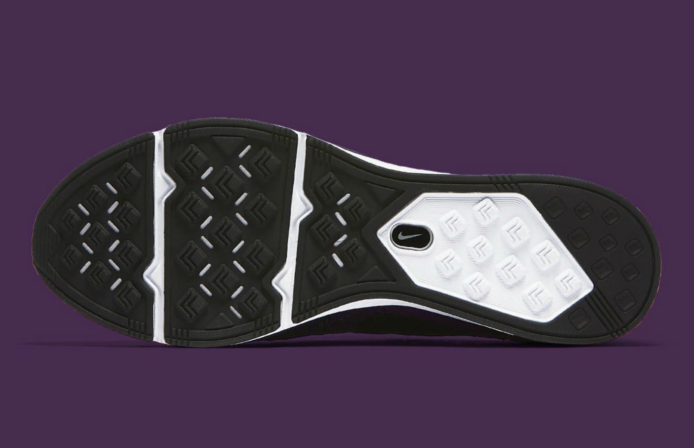 Nike Flyknit Trainer Night Purple Release Date AH8396-500 Sole