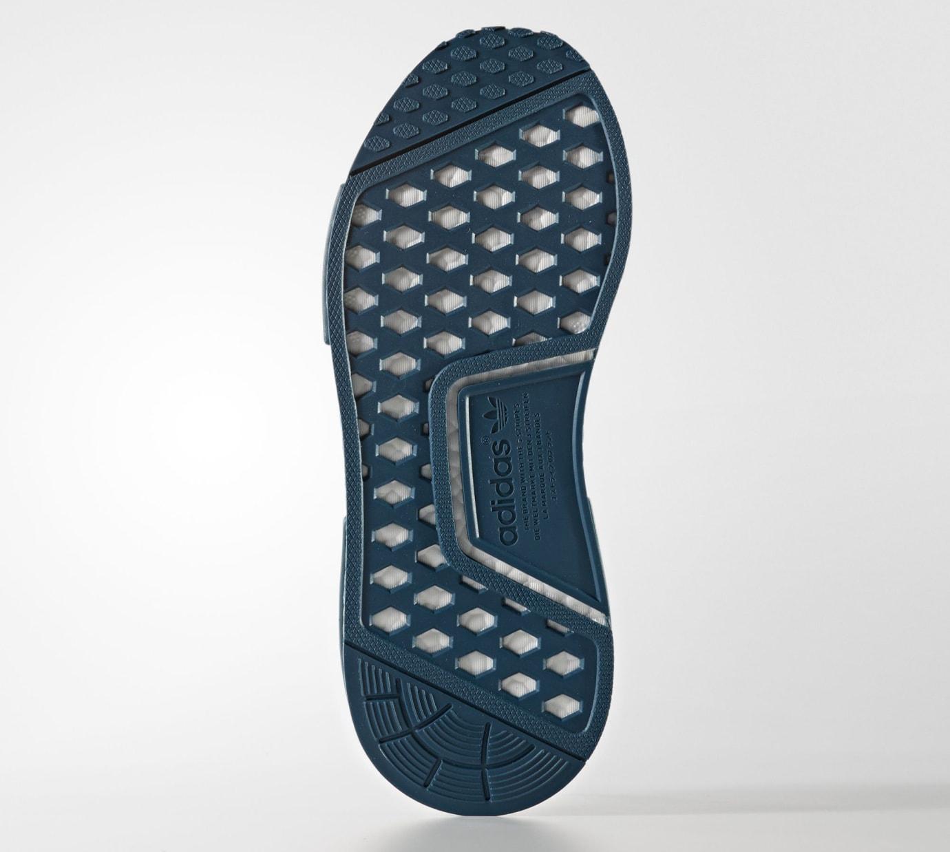 Adidas NMD Blue Grey Glitch Boost CG3601 Sole