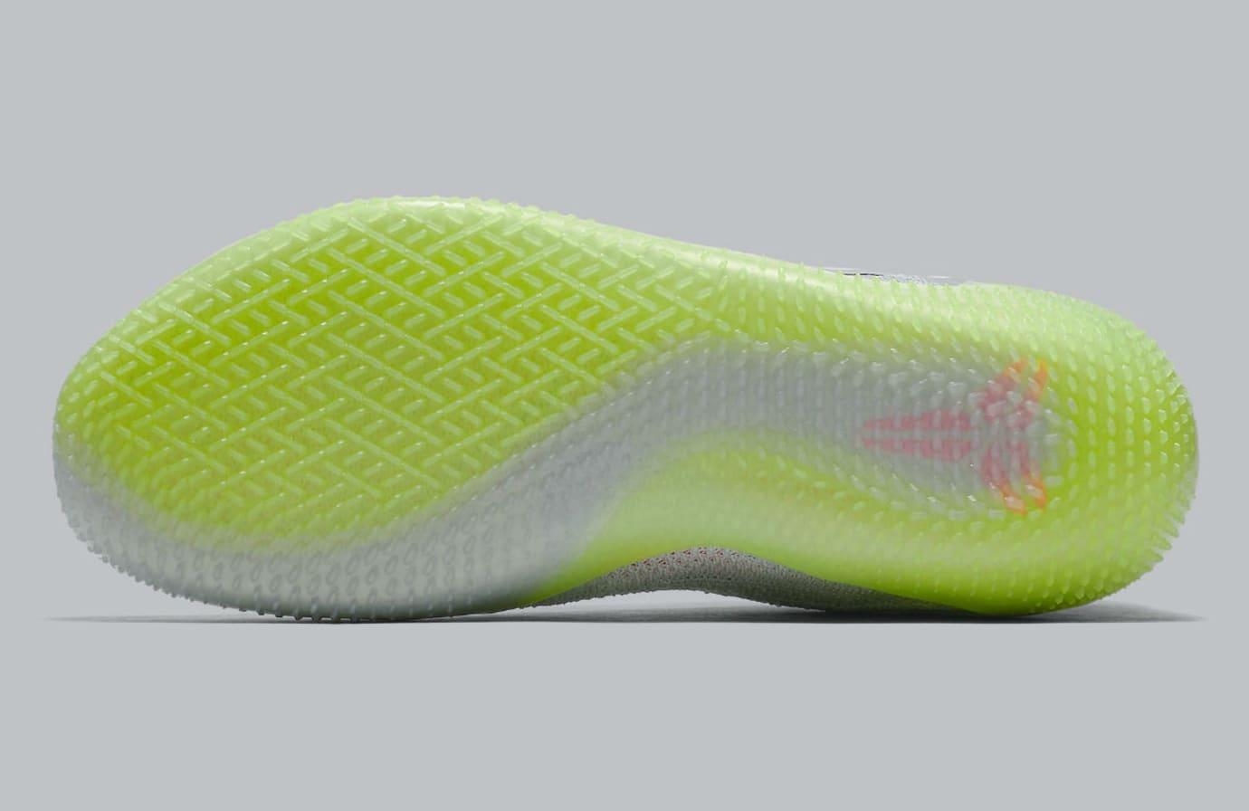 f839722c9544ad Image via Nike Nike Kobe A.D. NXT 360 Grey Multicolor Release Date AQ1087- 003 Sole