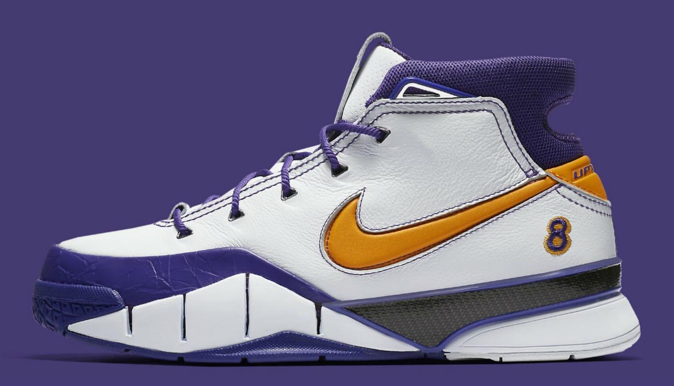 350c4aaf8fe Nike Kobe 1 Protro  White Del Sol-Varsity Purple  AQ2728-101 Release ...