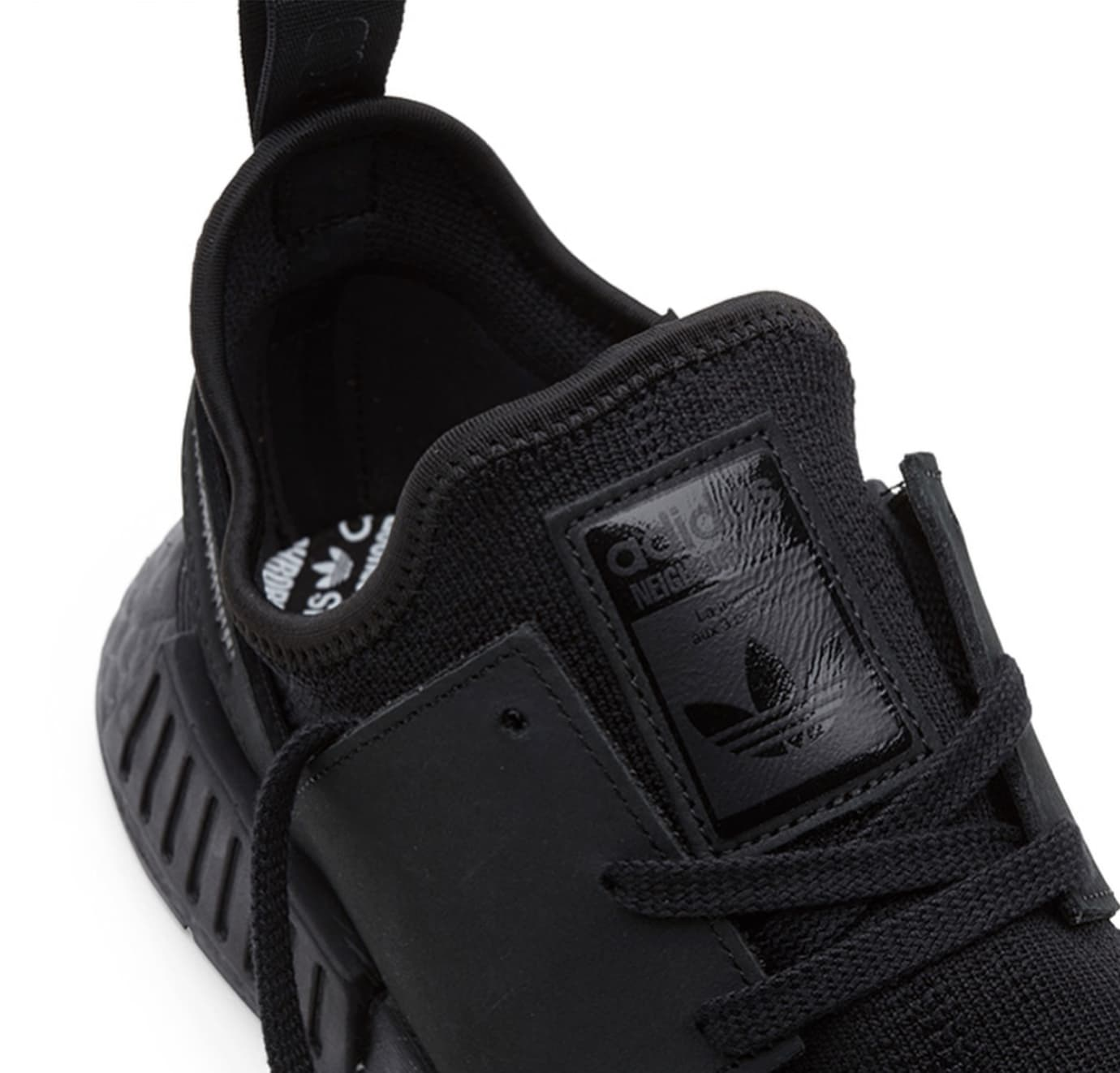 Neighborhood x Adidas NMD_R1 PK 'Triple Black' (Detail 1)