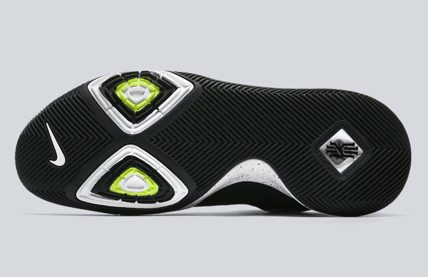 Nike Kyrie 3 Black White Tuxedo Release Date Sole 917724-001