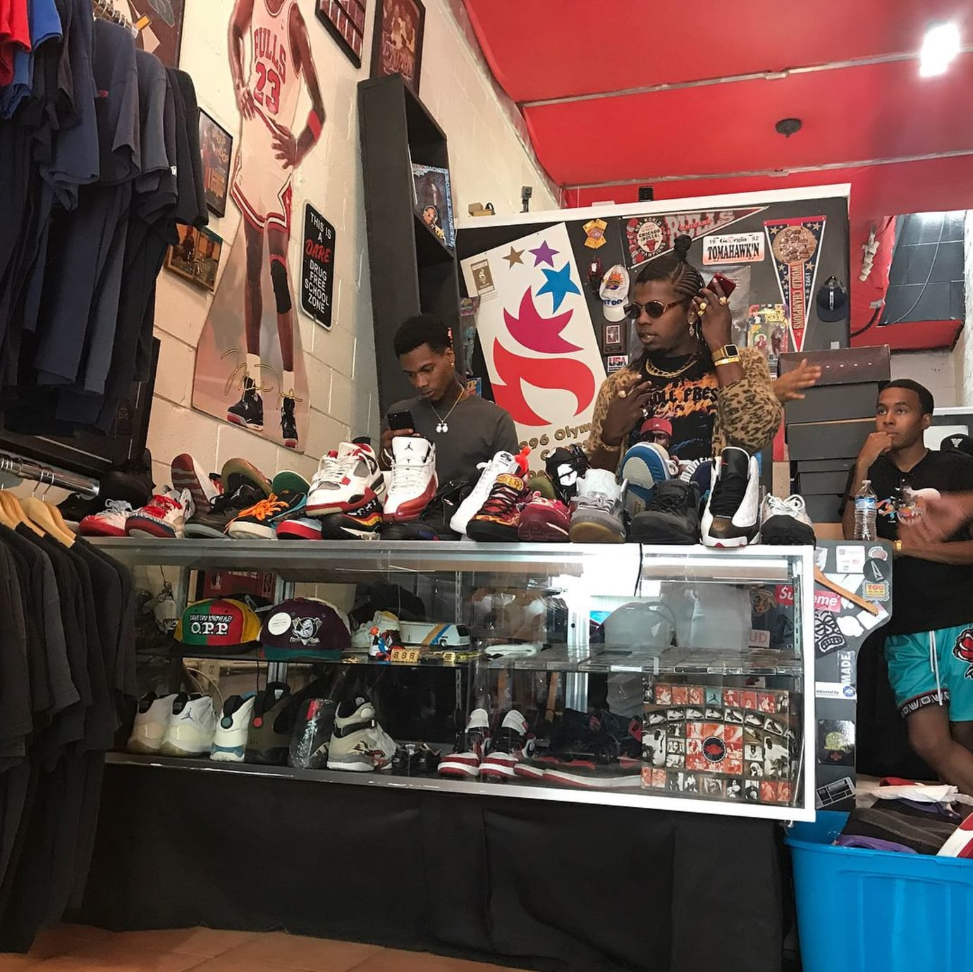 Trinidad James Homeless Sneaker Drive (1)