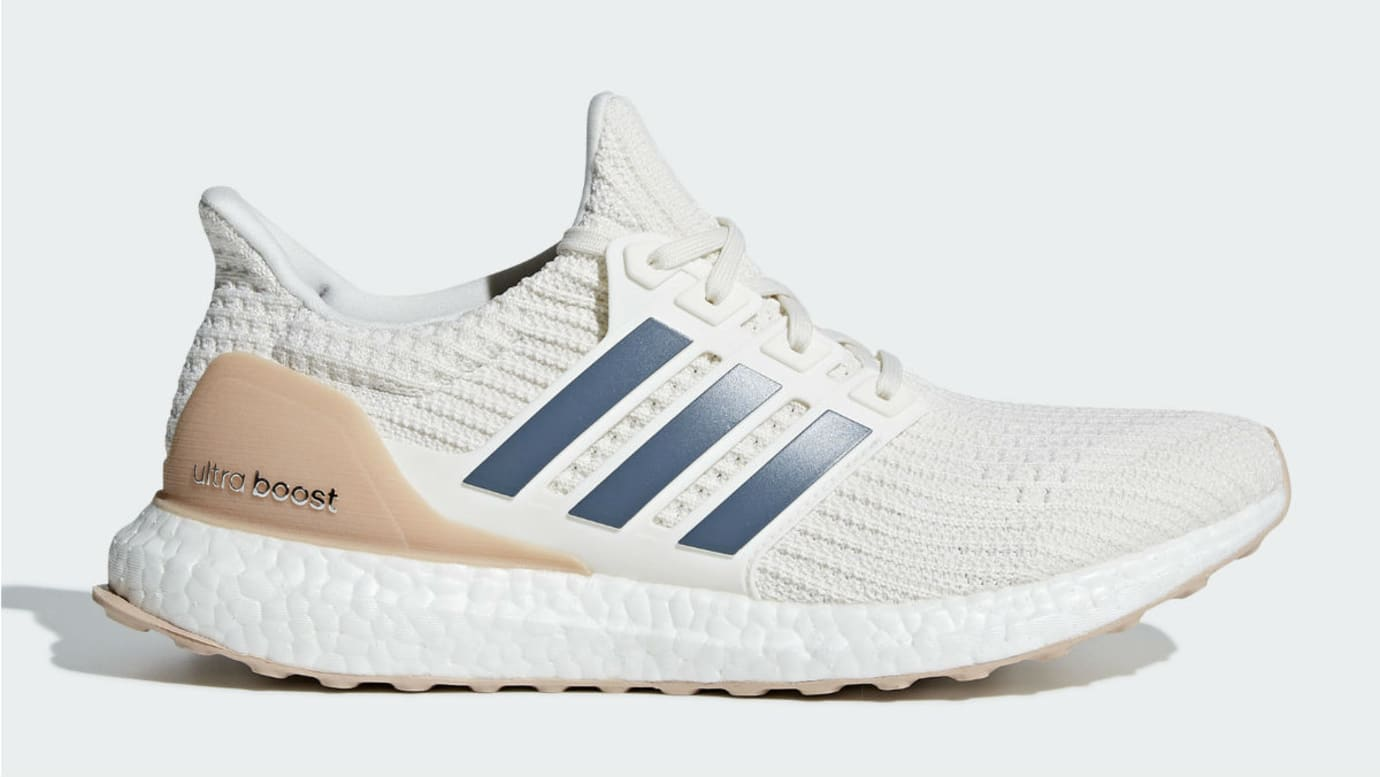 5334fb71f Adidas Ultra Boost 4.0 Show Your Stripes Cloud White Tech Ink Ash Pearl  Release Date CM8114