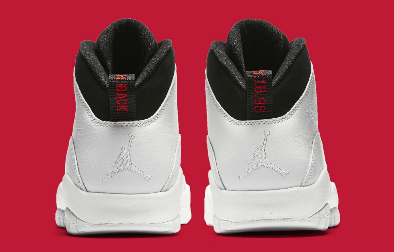 size 40 bca1b b051e Air Jordan 10 X I'm Back White Black Release date 310805-104 ...
