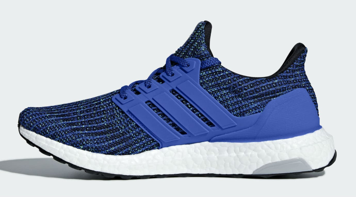 1bcbfdad39a Image via Adidas Adidas Ultra Boost 4.0 Hi Res Blue Release Date CM8112  Medial