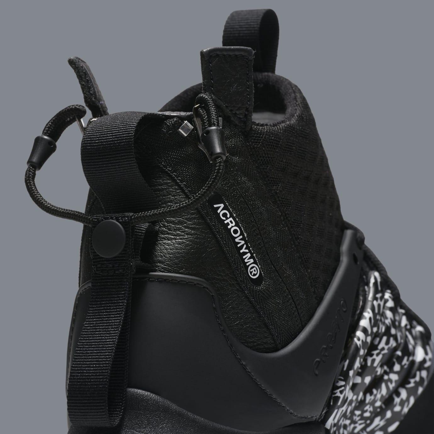 Acronym x Nike Air Presto Mid 'Cool Grey/Black' AH7832-001 (Detail)