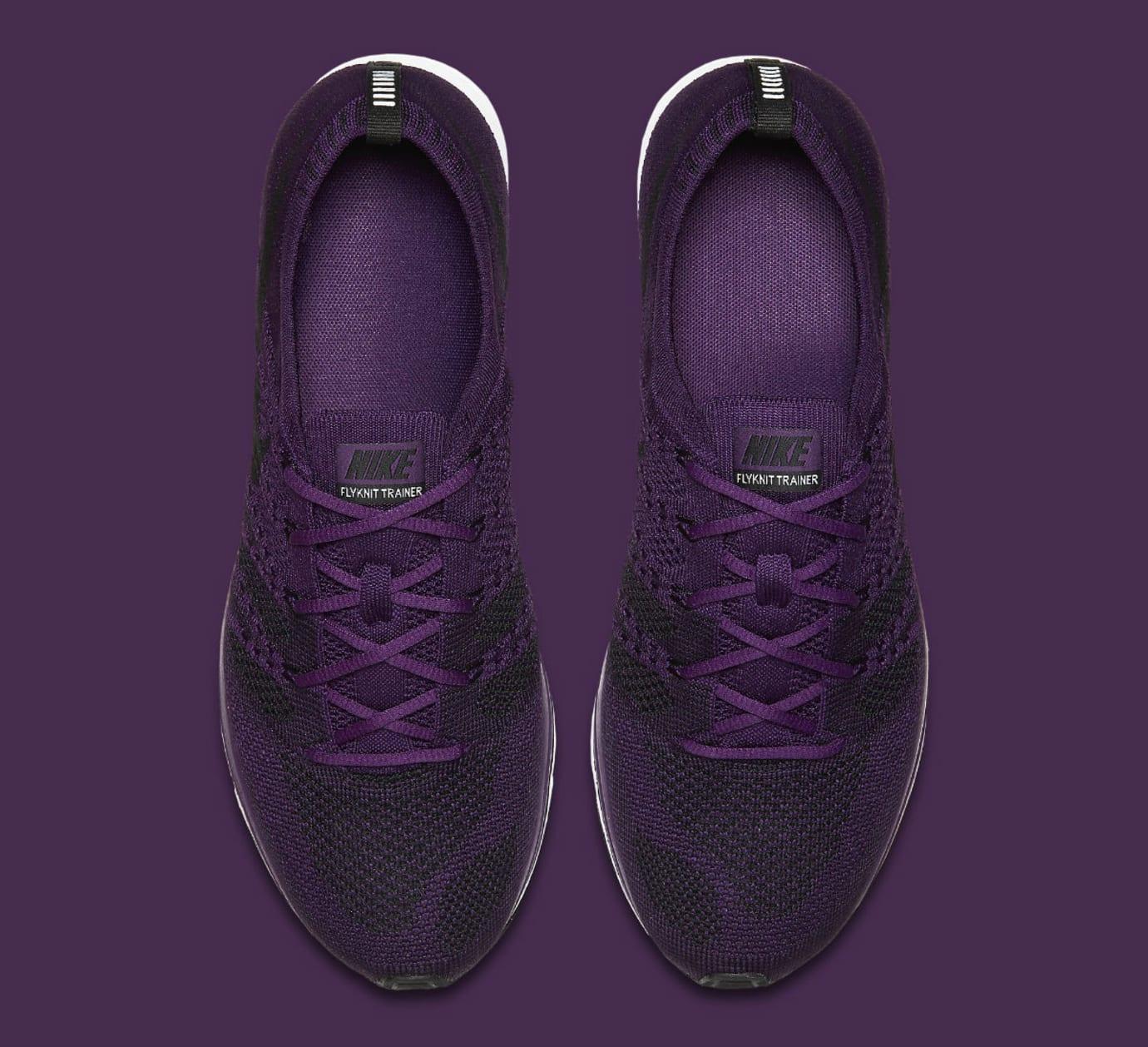 Nike Flyknit Trainer Night Purple Release Date AH8396-500 Top