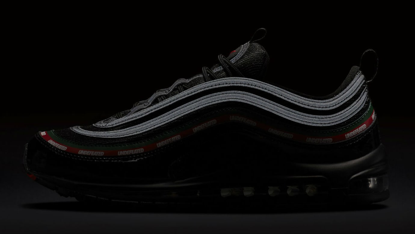 best website f4925 1092a Undefeated x Nike Air Max 97 Black Release Date 3M AJ1986 ...