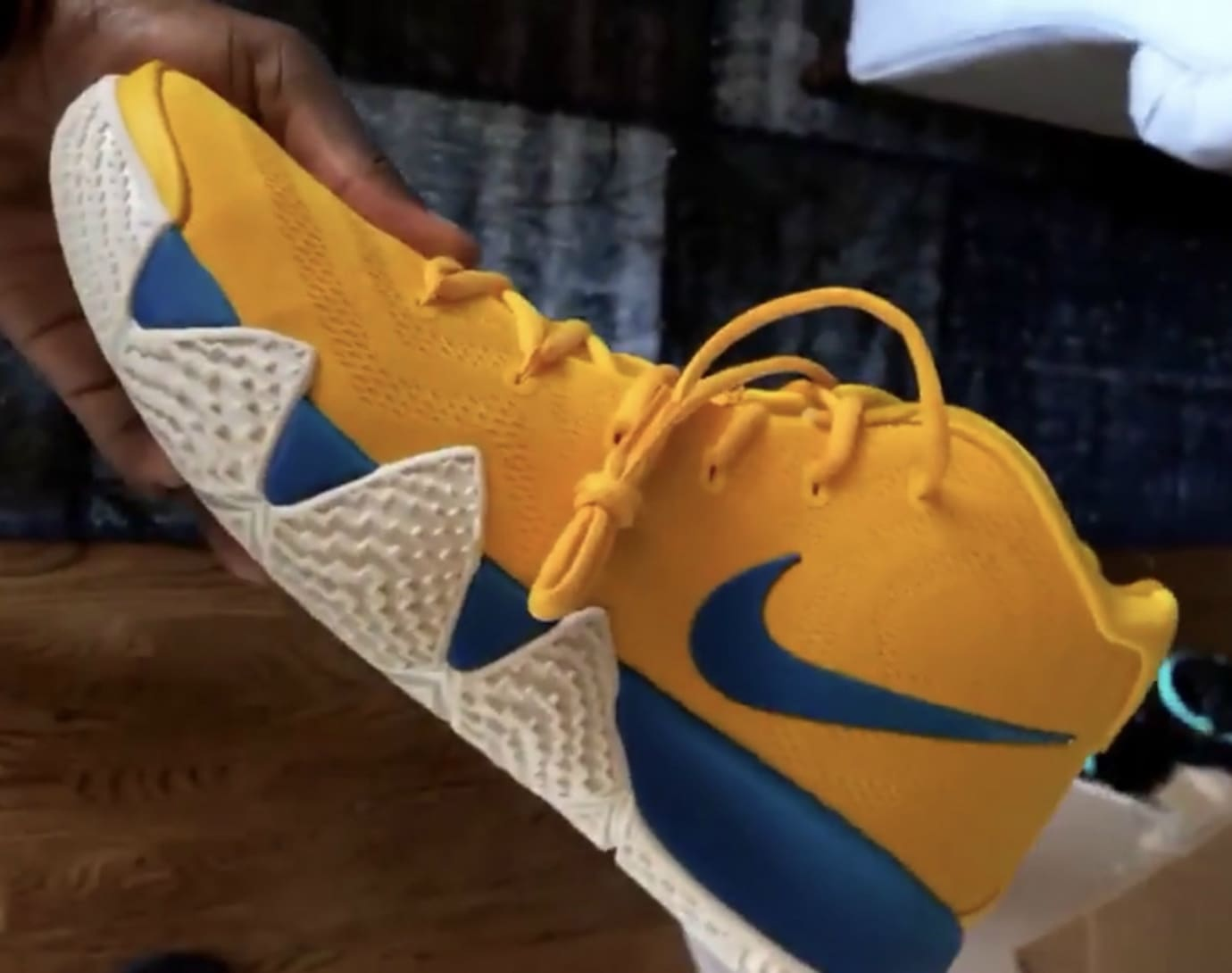 17028fe95083 Nike Kyrie 4 'Cereal' Pack Release Date Cinnamon Toast Crunch Lucky ...