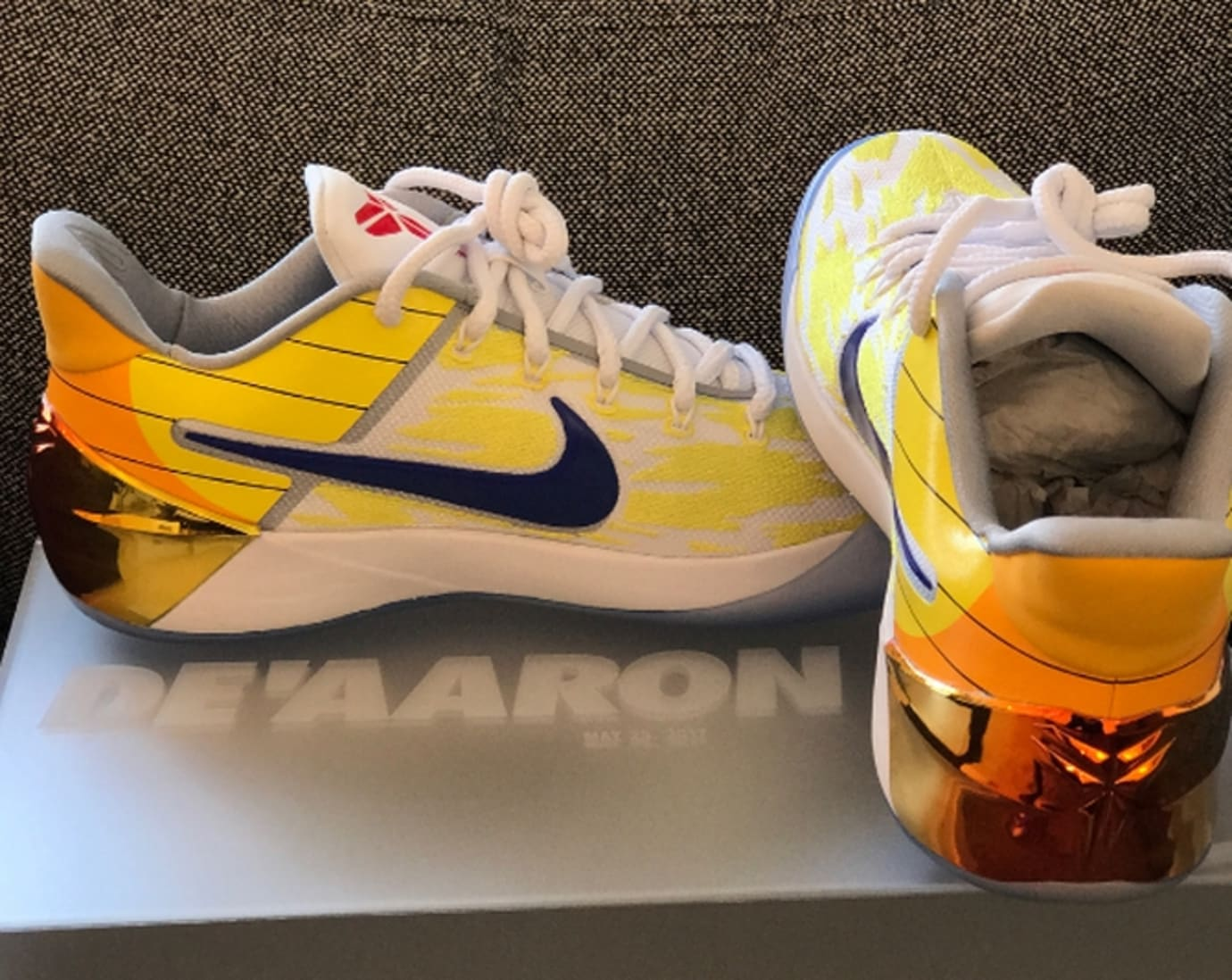 DeAaron Fox Nike Kobe AD Dragon Ball Z