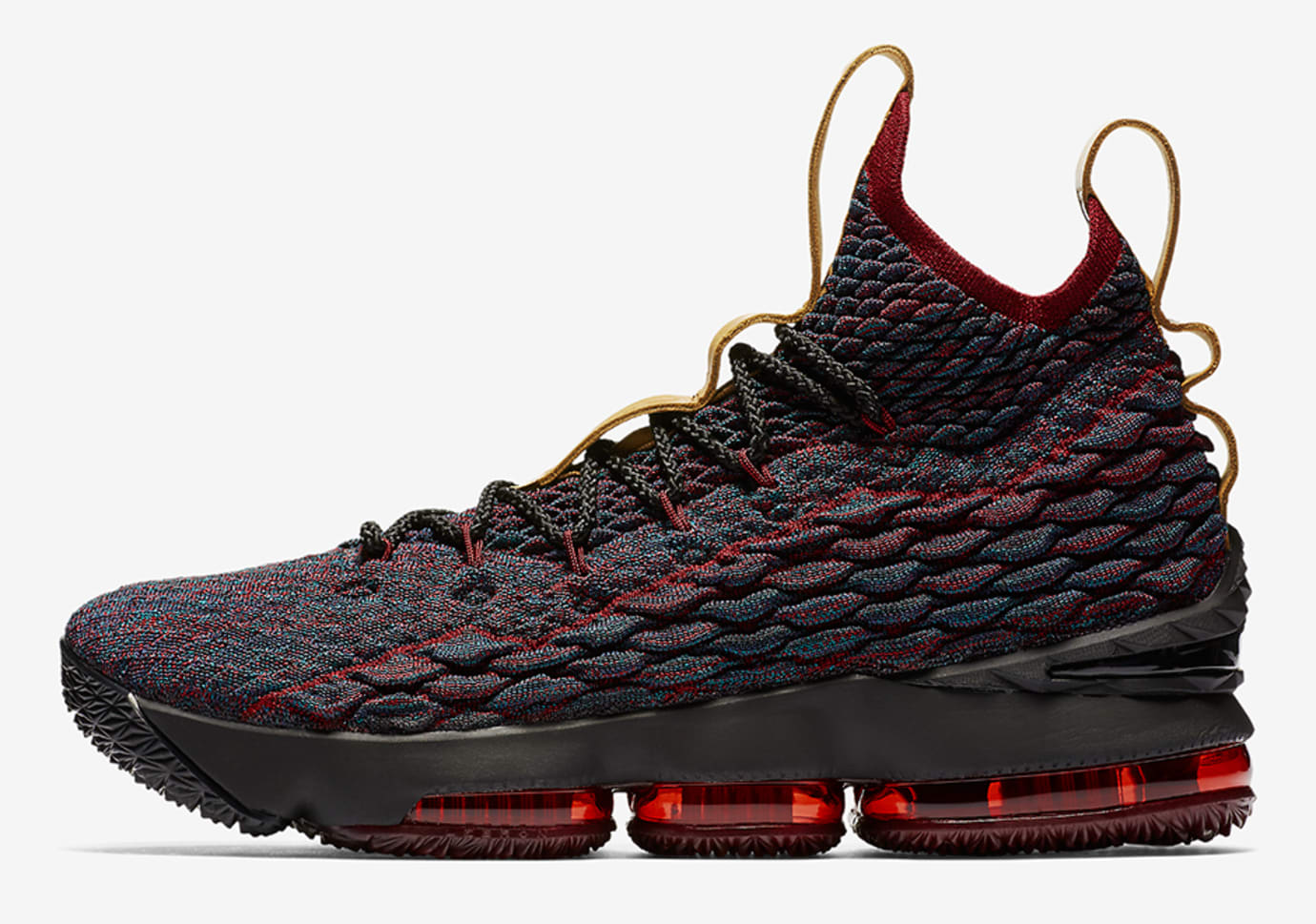 finest selection 5a71d 4a033 Nike LeBron 15  New Heights  897648-300 (Lateral)