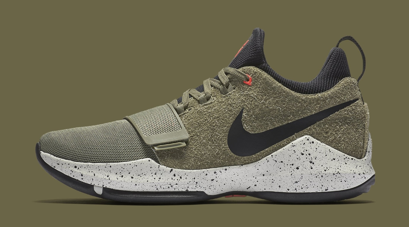 Nike PG1 Elements 911085-200 Cargo Khaki Profile