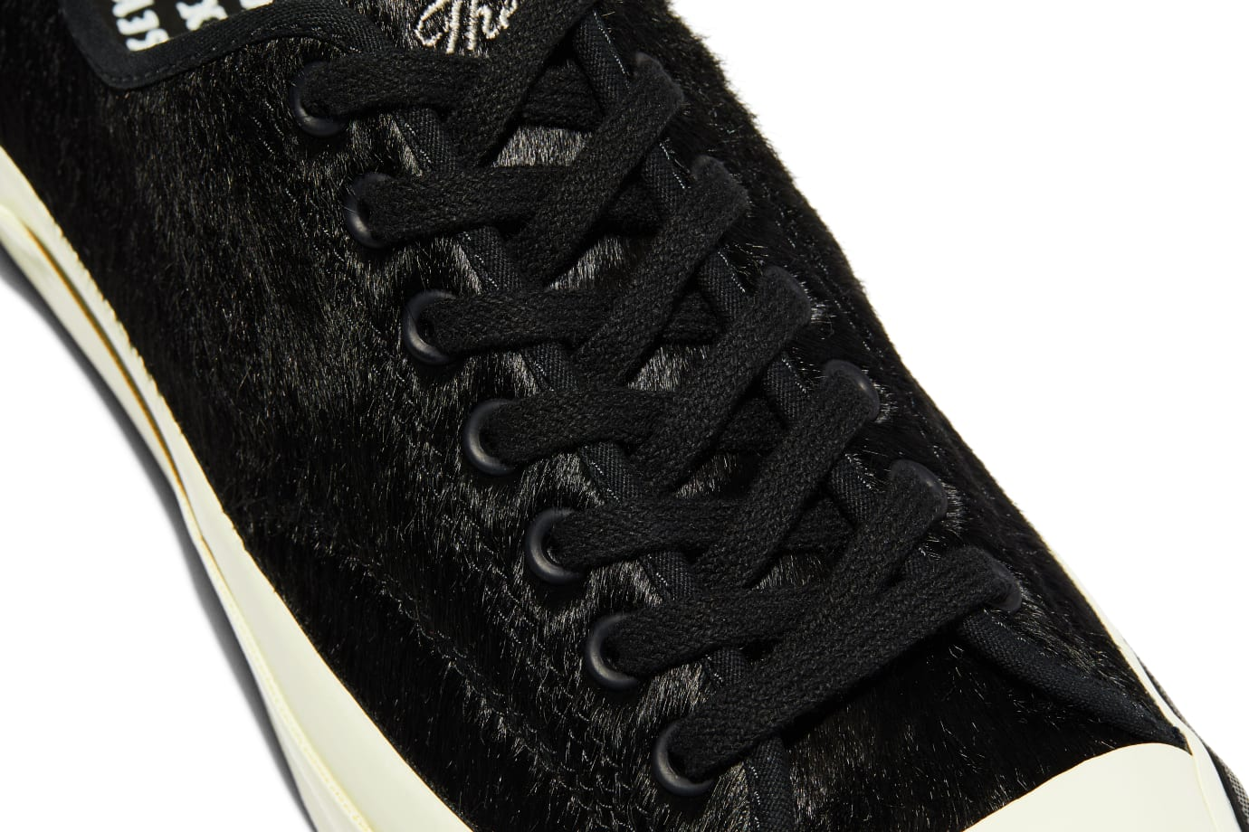 BornxRaised x Converse Jack Purcell 'Black' (Laces)