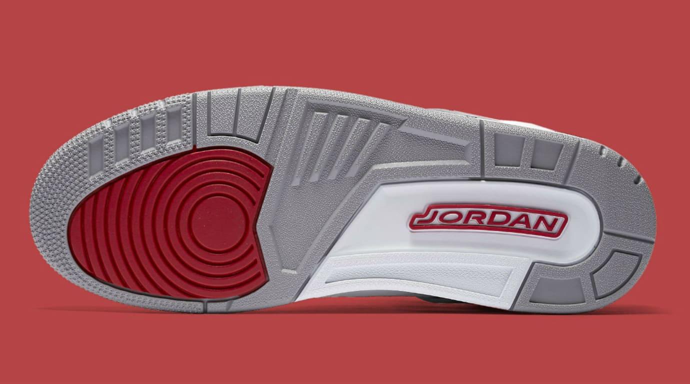 Jordan Spizike White Cement 2017 Release Date Sole 315371-122