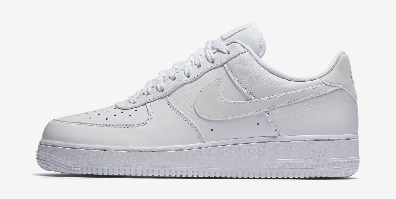 Nike Air Force 1 White Reflective 905345-100 Profile