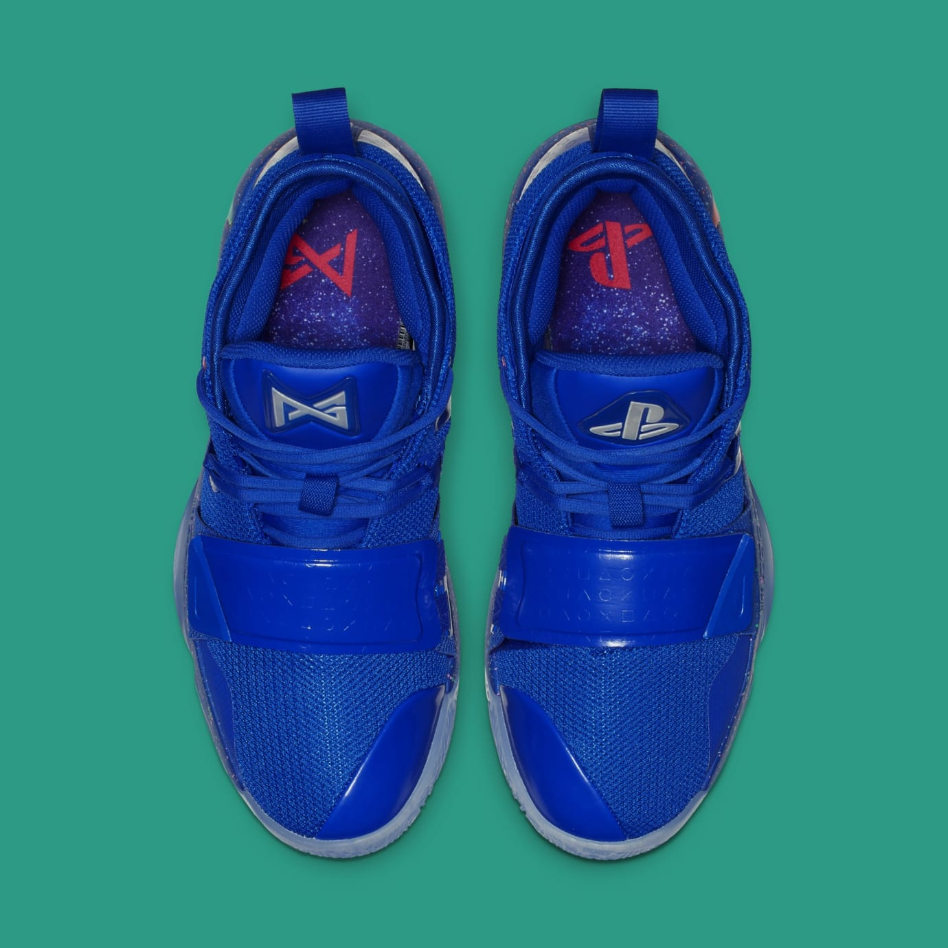 Playstation x Nike PG 2.5 'Blue/Multi-Color' BQ8388-900 (Top)