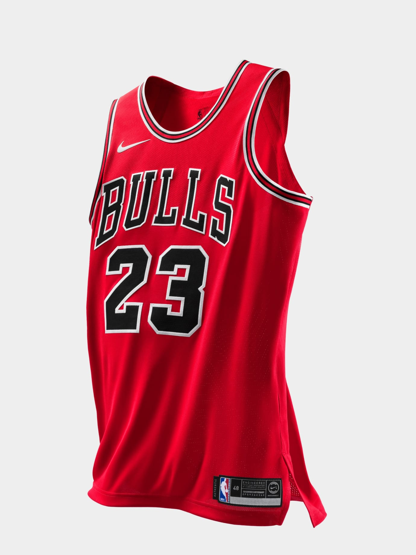 Image via Nike Michael Jordan Chicago Bulls Last Shot Jersey (Authentic) cfd5801c6