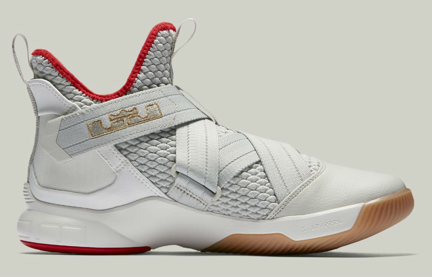 dffefa91cc33 Nike LeBron Soldier 12 Yeezy Release Date AO2609-002 Medial