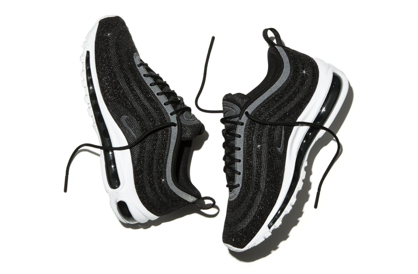 Image via Nike Nike Air Max 97 Swarovski Crystal Black 929ba1a3720c
