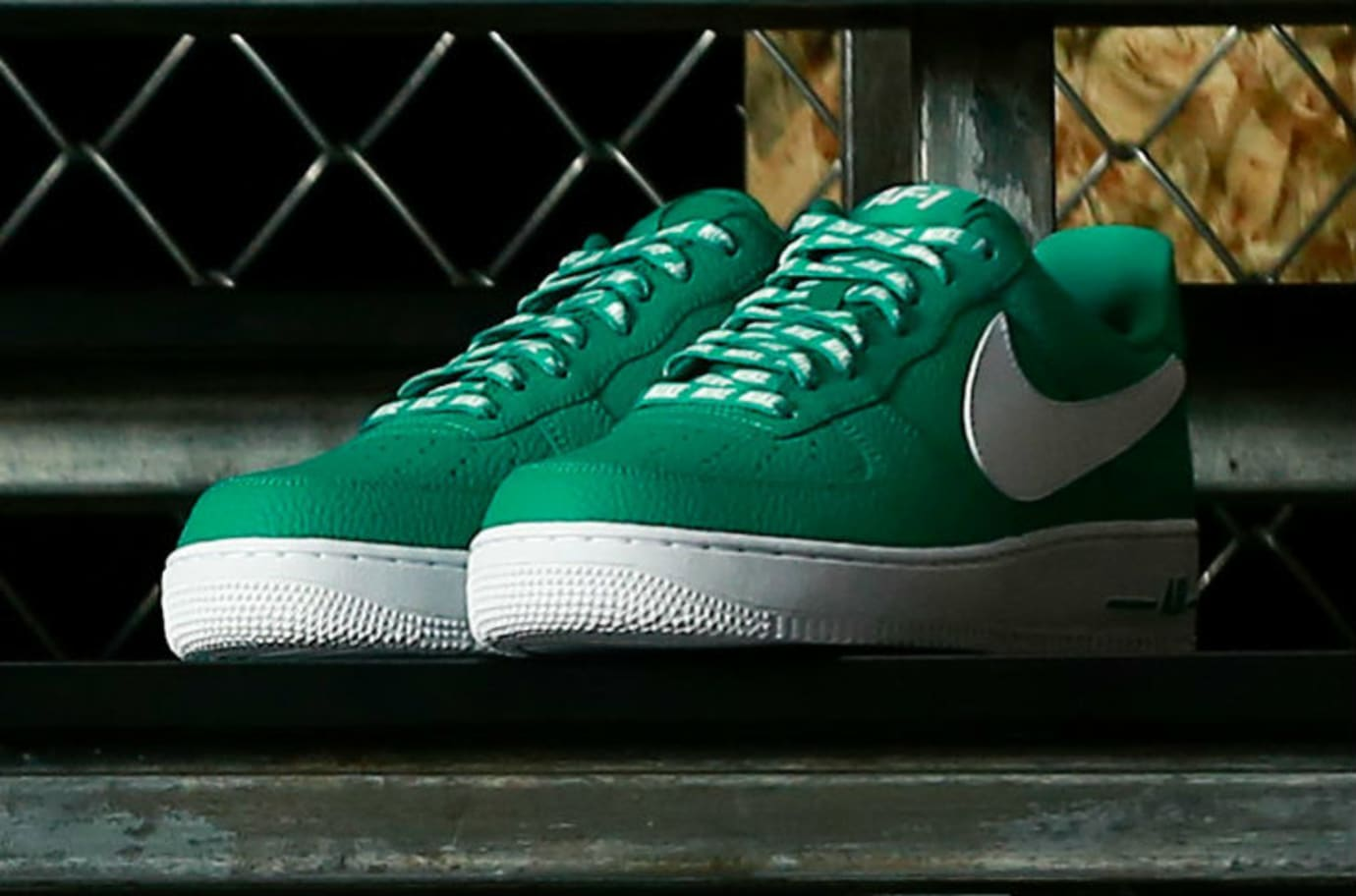 Nike Air Force 1 Low Statement Game NBA Logos Green