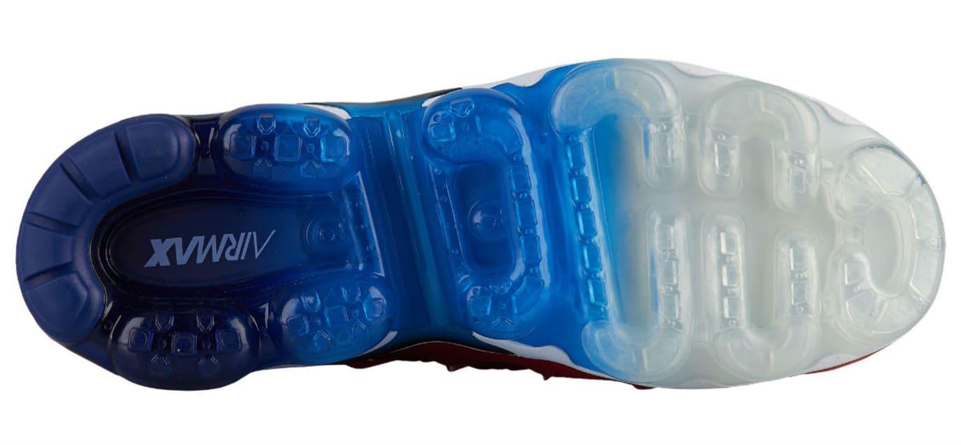 88412830e544 Image via Foot Locker Nike Air VaporMax Plus USA Red White Blue Release  Date 924453-601 Sole