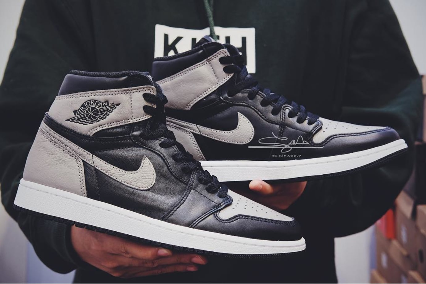 Air Jordan 1 I High OG Shadow 2018 Release Date 555088-013 Side