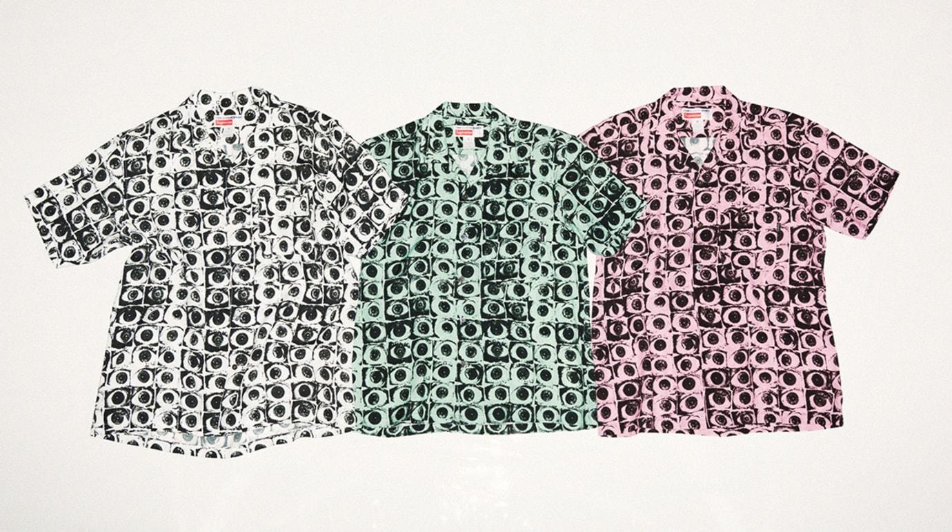 Supreme Comme des Garcons Eye Rayon Shirt