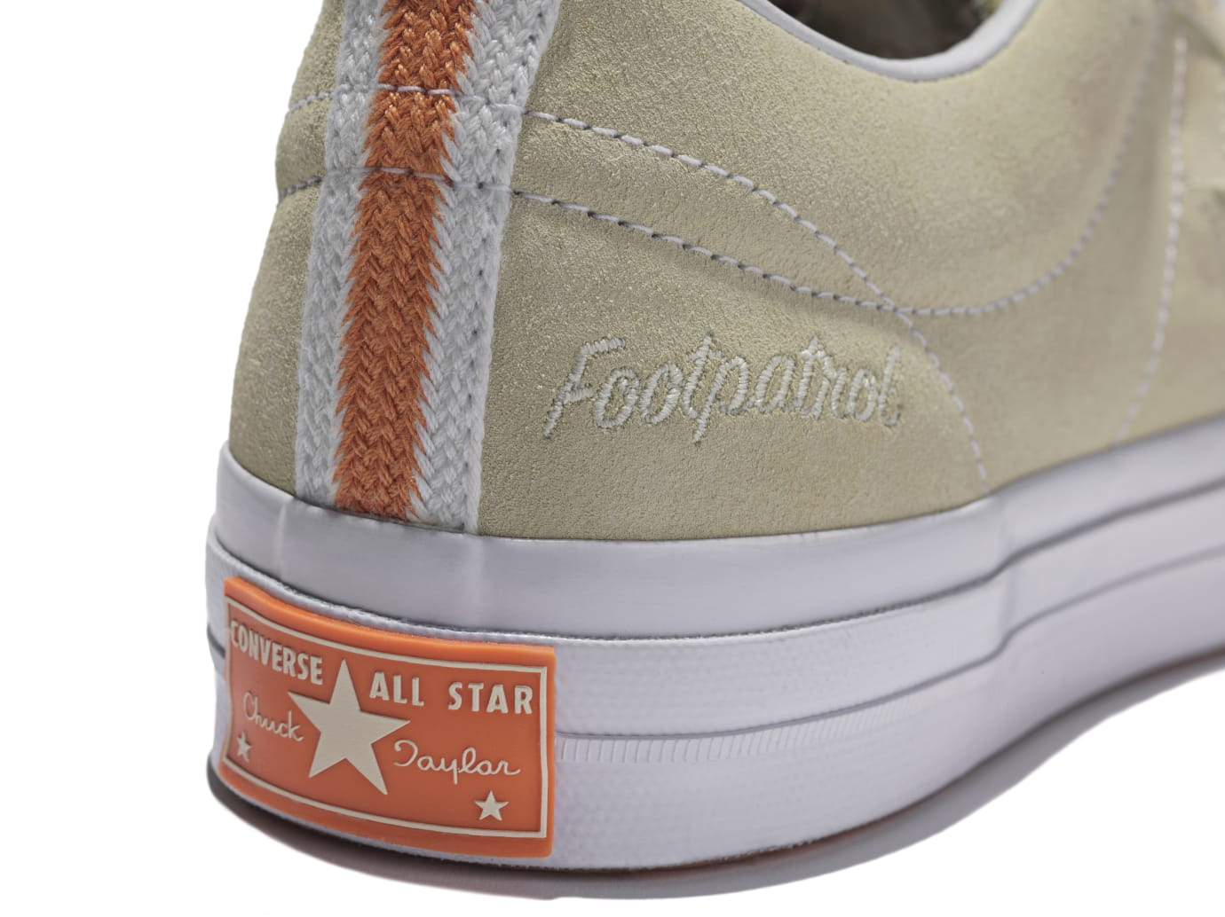 Converse One Star x Footpatrol (Heel)