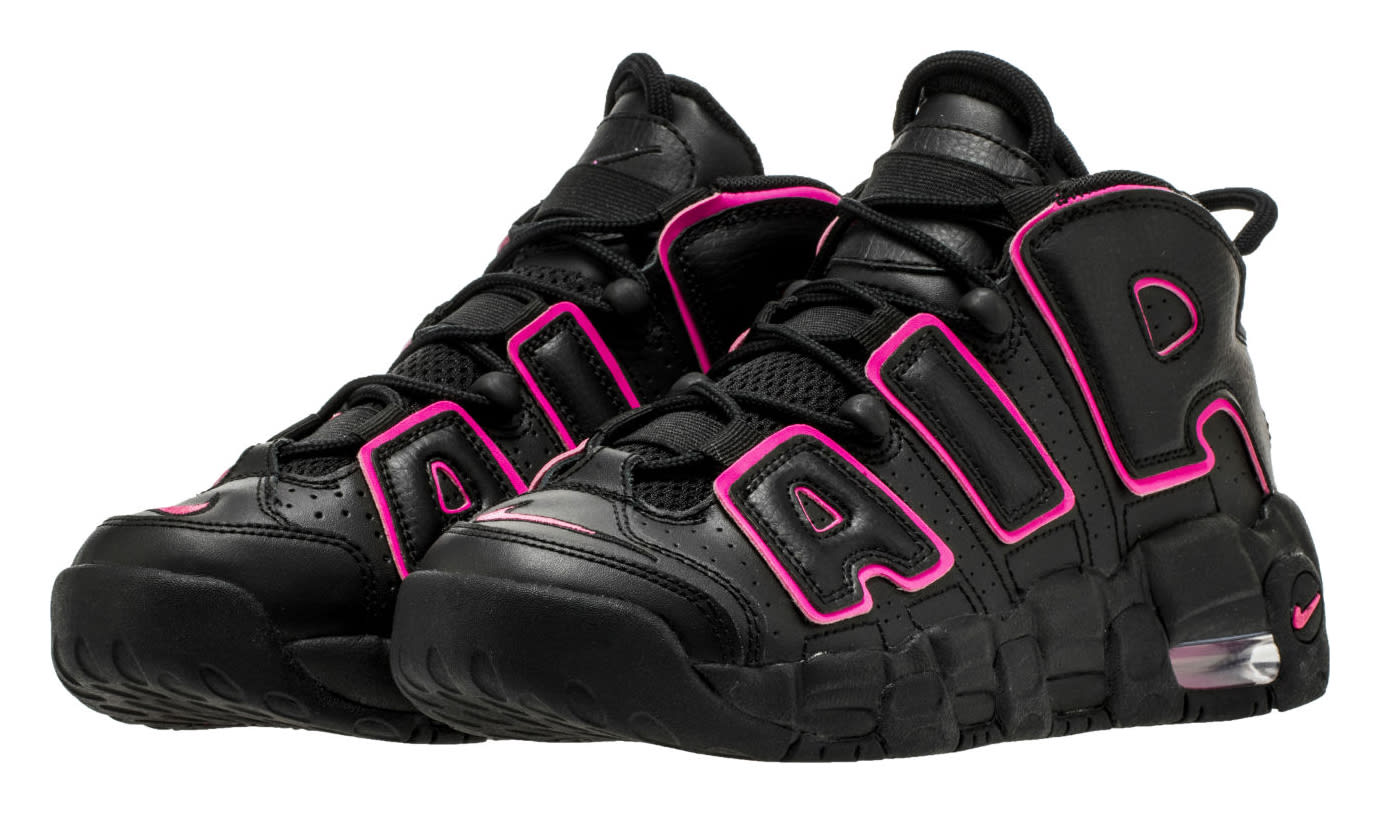Nike Air More Uptempo Black Pink 415082-003