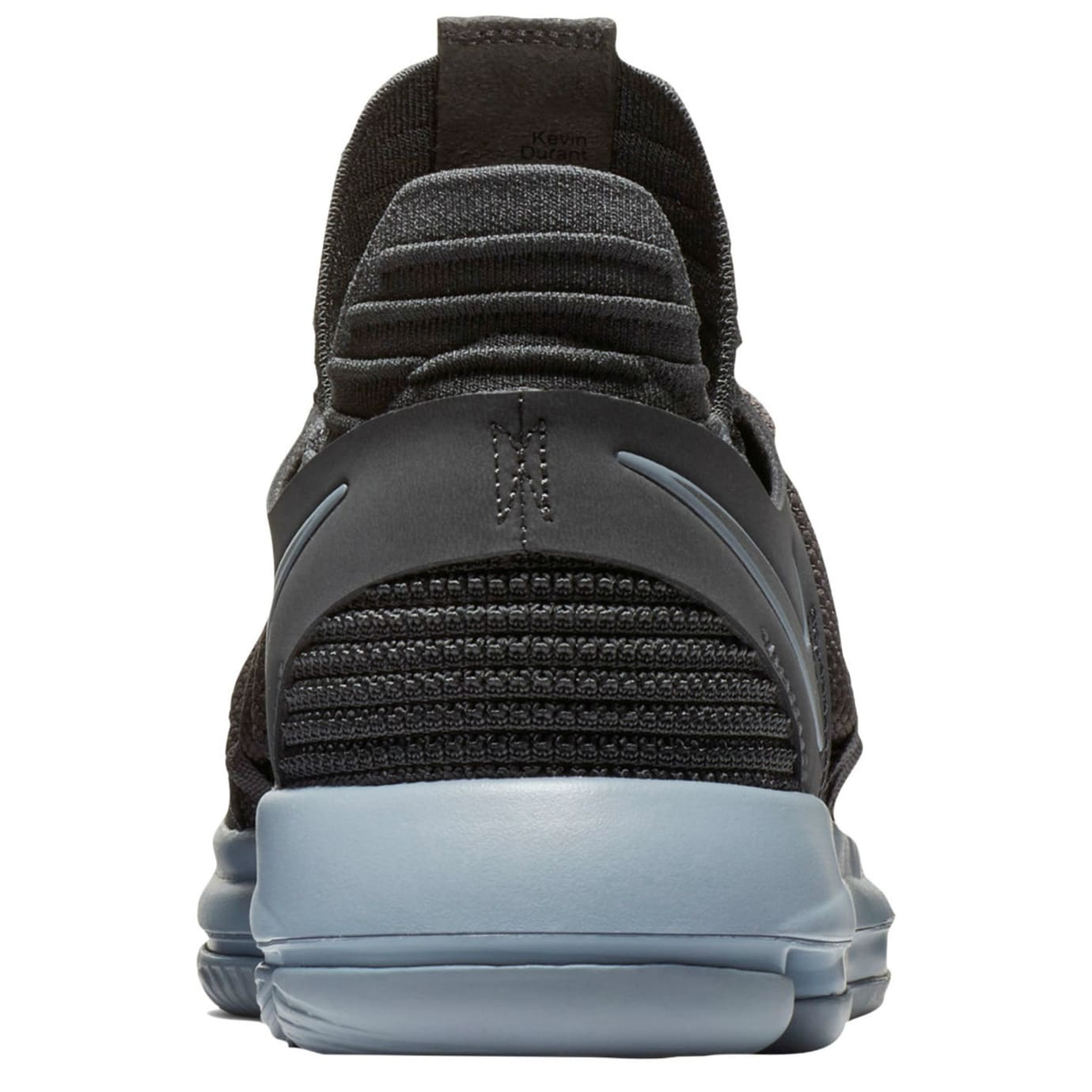 cheaper 8581c f5213 Nike KD 10 Dark Grey Release Date Heel 897815-005