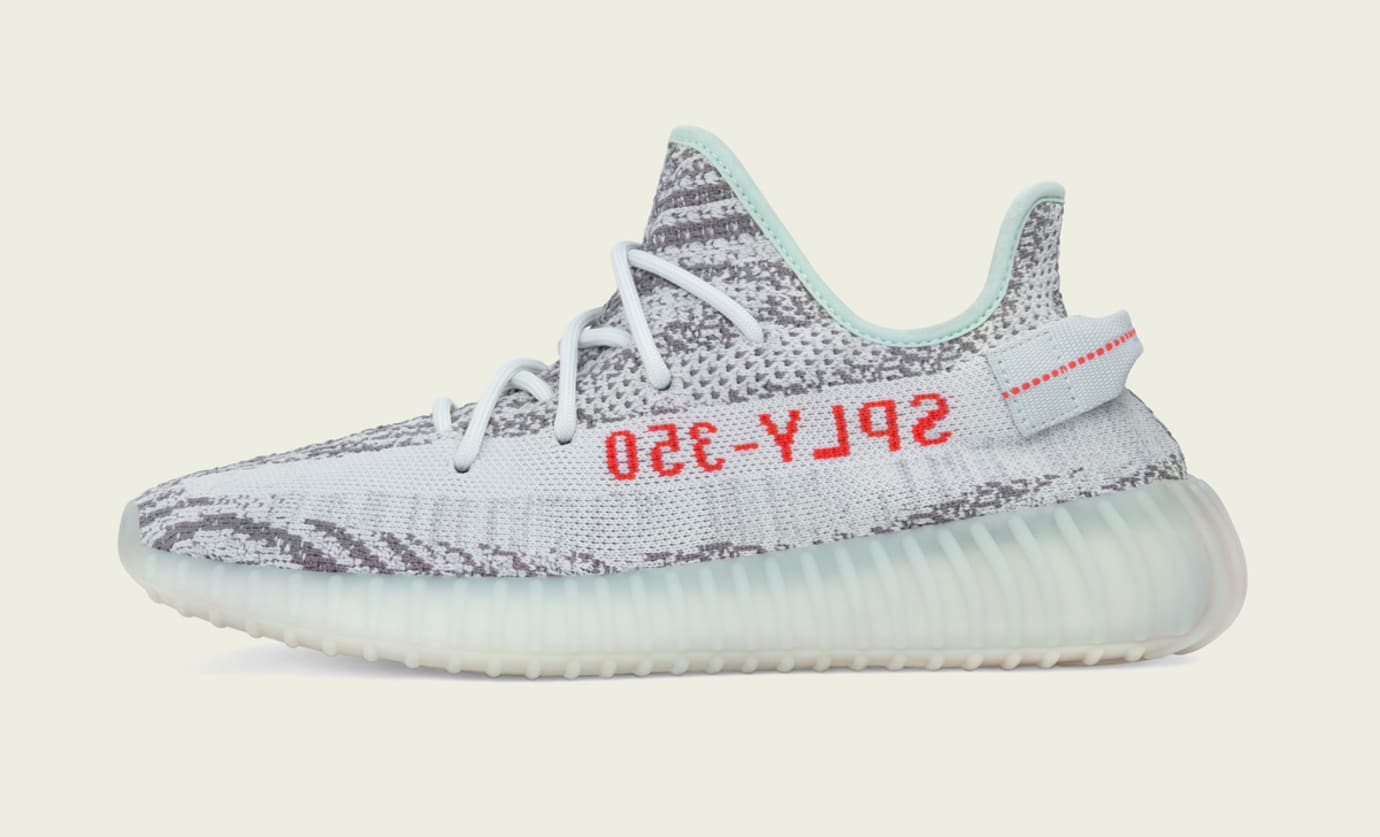 Blue Tint Adidas Yeezy Boost 350 V2 Medial