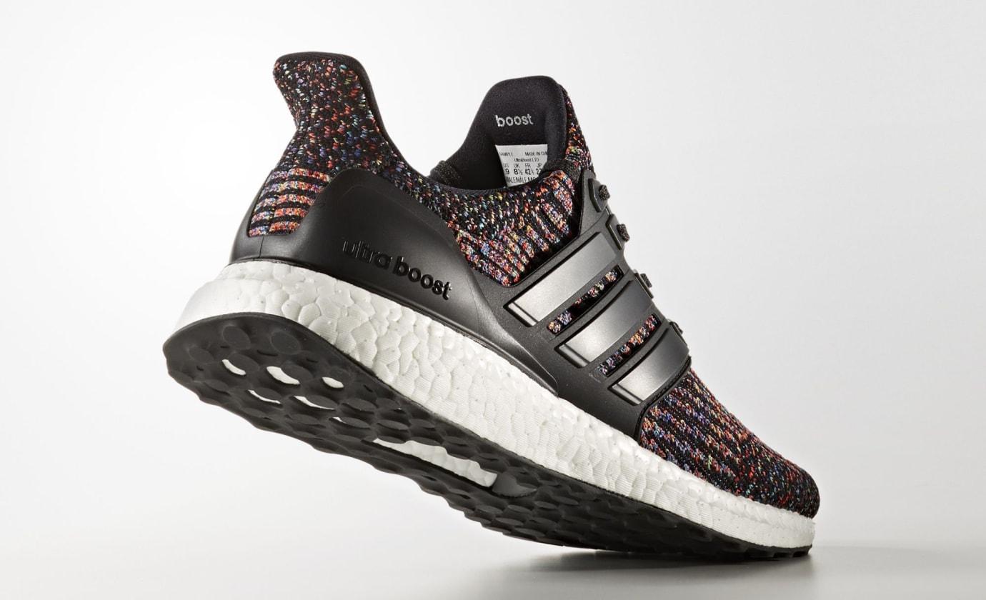 Multicolor Adidas Ultra Boost 3 CG3004 Heel