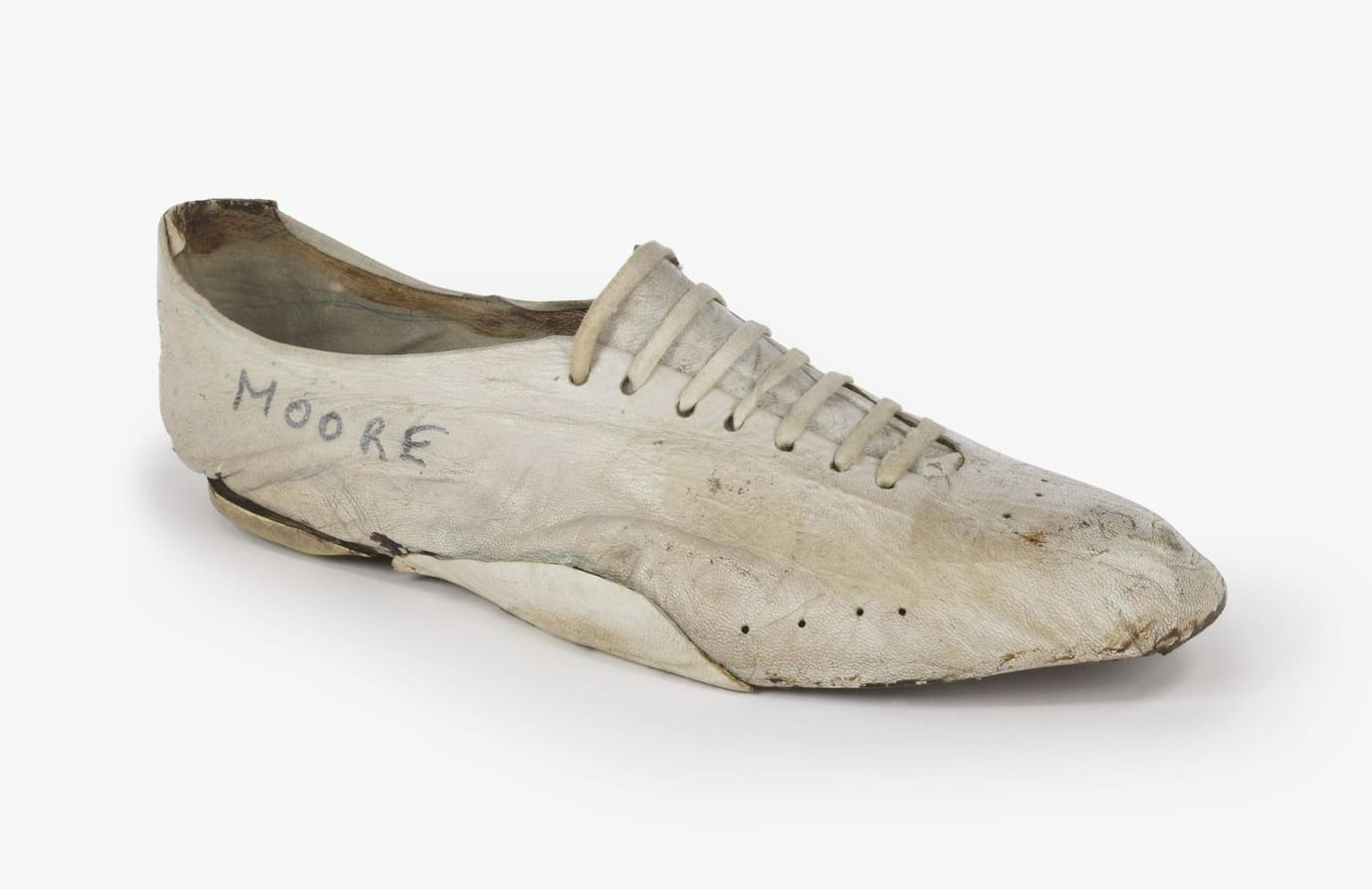 Bill Bowerman Handmade Shoe for Kenny Moore