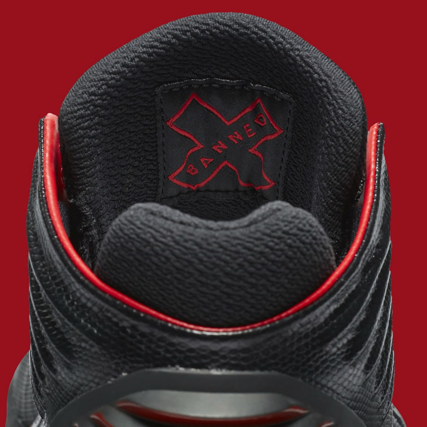 Air Jordan 32 XXXII Banned Bred Release Date Tongue AA1253-001