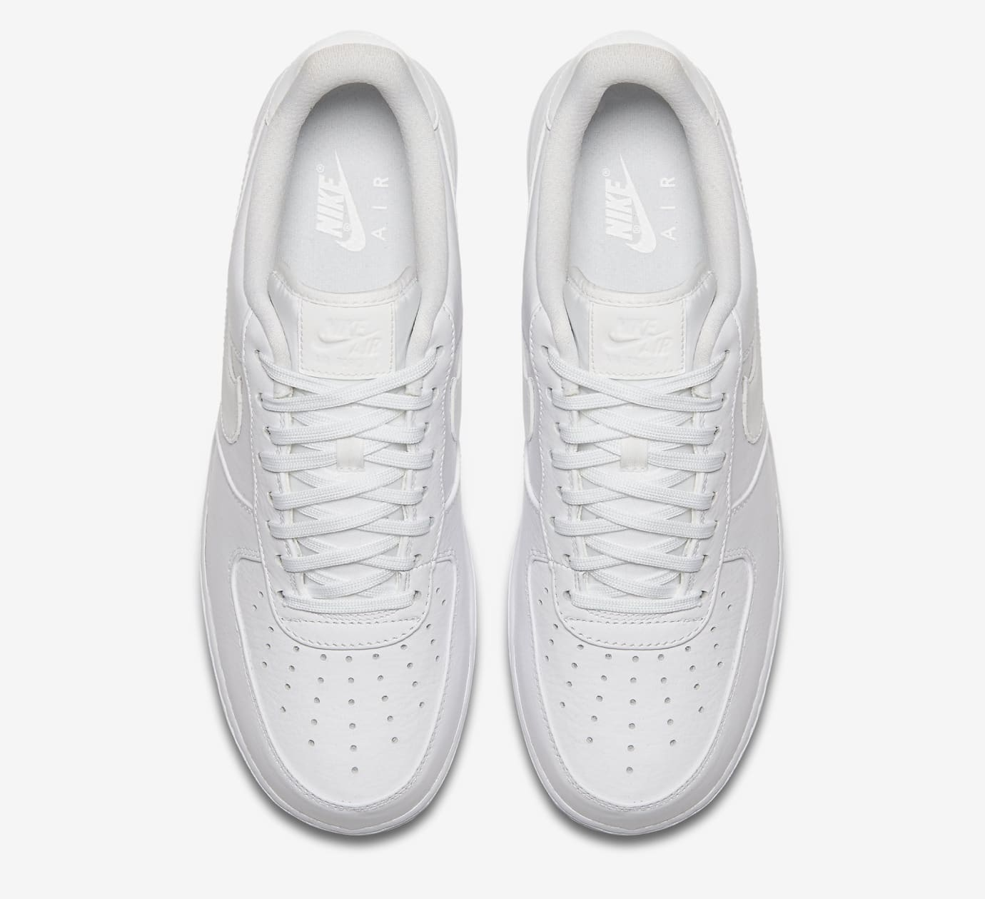 Nike Air Force 1 White Reflective 905345-100 Top