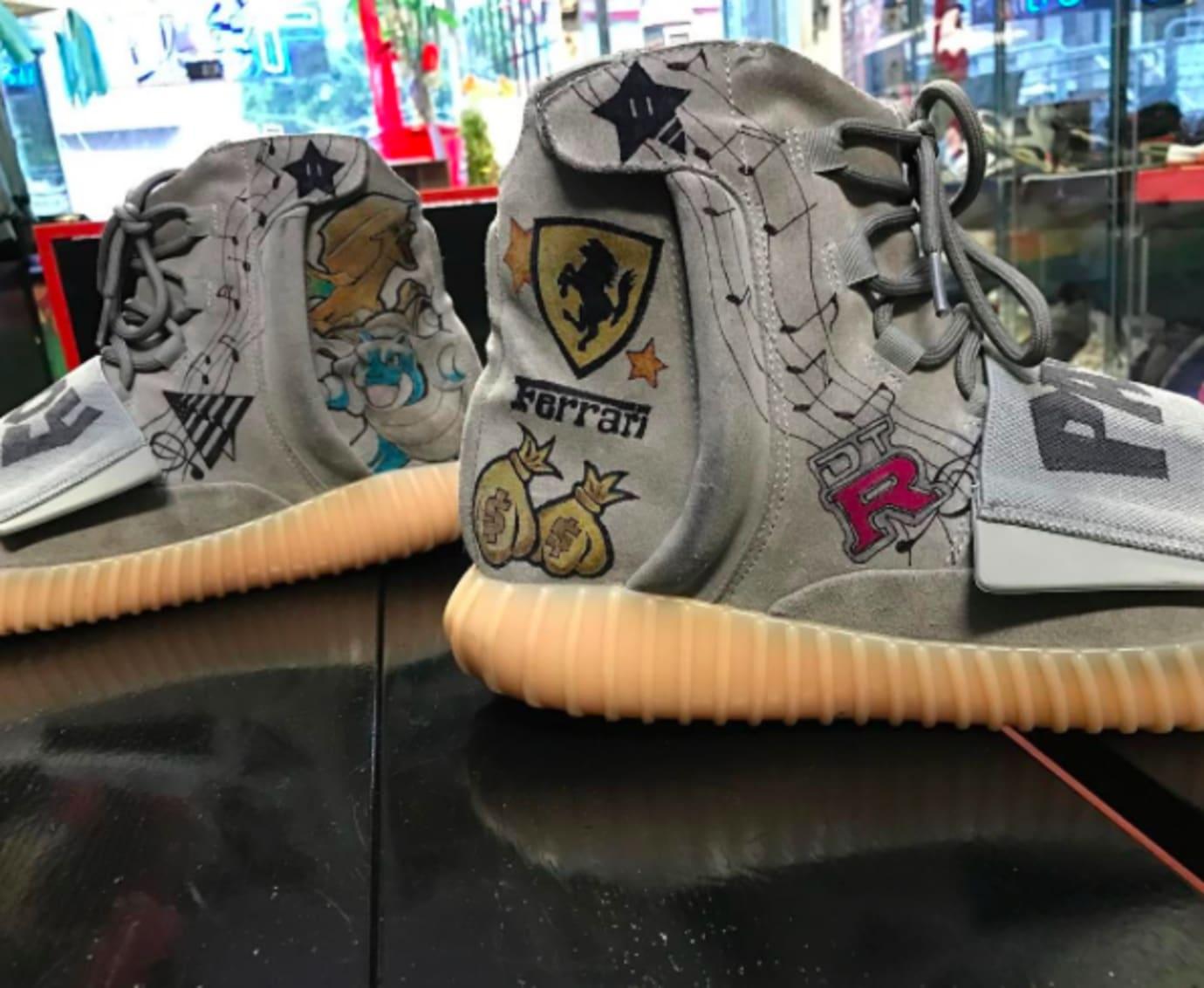 Paypa Boy Adidas Yeezy Boost 750