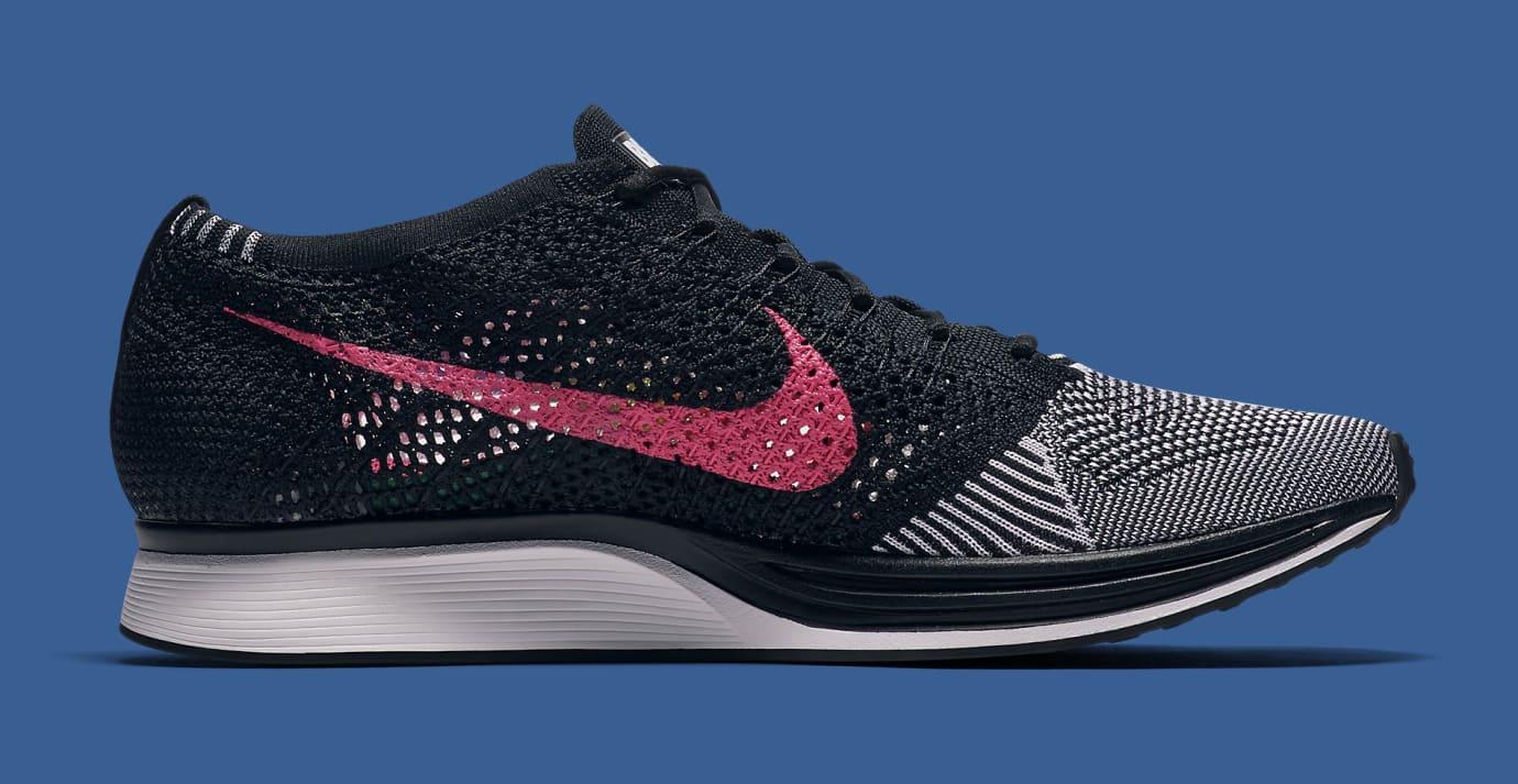 size 40 b215e 38eb0 Image via Nike Be True Nike Flyknit Racer 902366-100 Medial