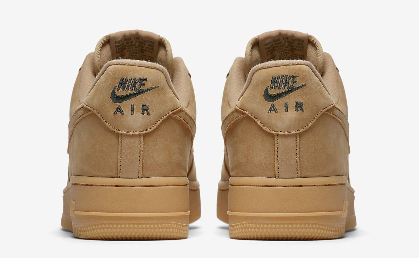 Wheat Nike Air Force 1 Low AA4016-200 Heel