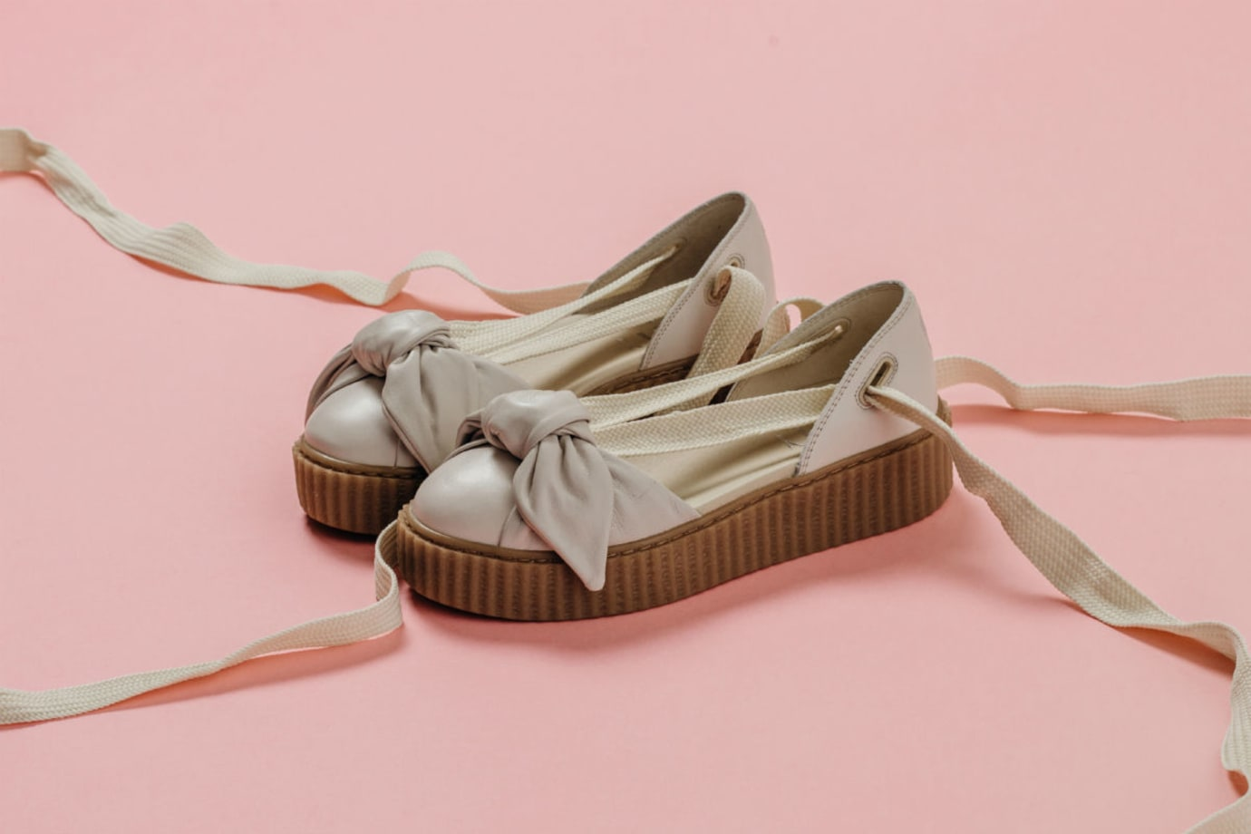 release date: e0c73 9f623 Rihanna x Puma Bow Creeper Sandal Release Date | Sole Collector