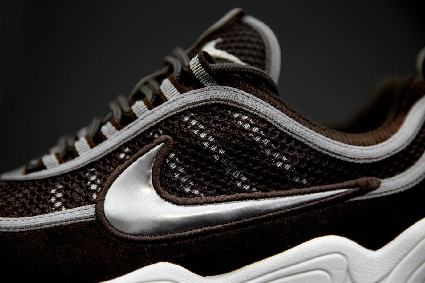 size? exclusive Nike Zoom Spiridon 'Brown' (Lateral 2)
